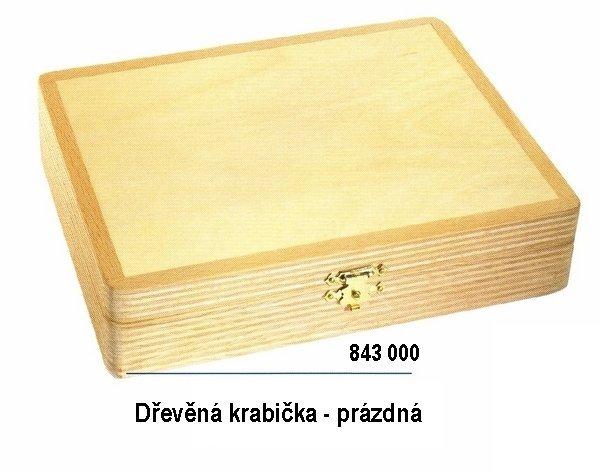 Drevený box na britvy 843 000 1