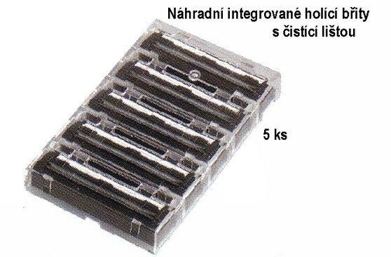 Náhradné integrované brity s čistiacou lištou MERKUR