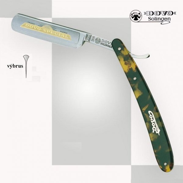 Britva DOVO Solingen 1516 580 N - imitácia korytnačieho panciera 8