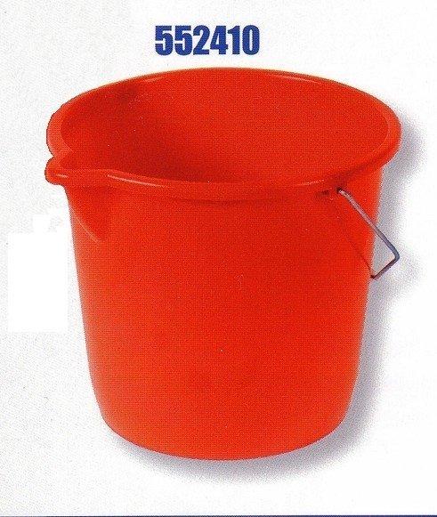 Plastové vedro RIVAL 552 410 - 10 ls výlevkou