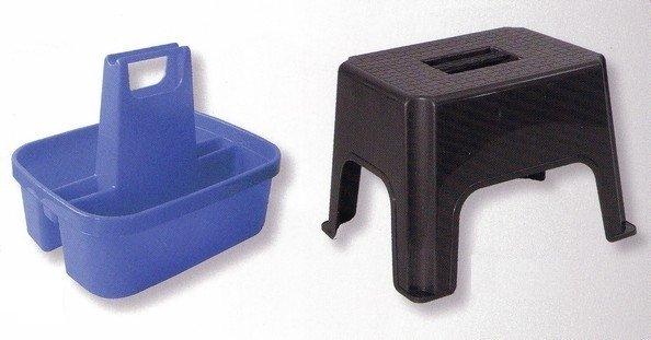 Univerzálna stolička s plastovým boxom na náradie - komplet