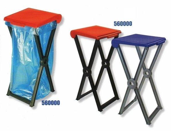 Stojan skladací plastový RIVAL 560 000 na odpadkové vrecia 2