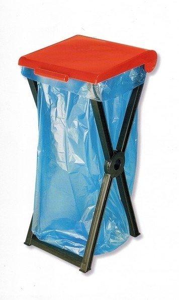 Stojan skladací plastový RIVAL 560 000 na odpadkové vrecia 3