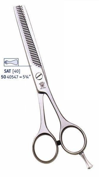 """Kadernícke nožnice DOVO 50 40547 - 5,25"""" - efilačné 1"""