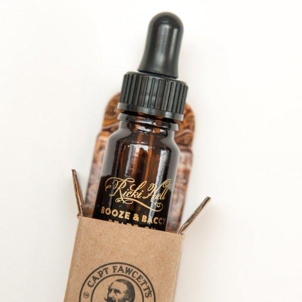 Olej na bradu Ricki Hall 's Booze & baccata 10ml 3