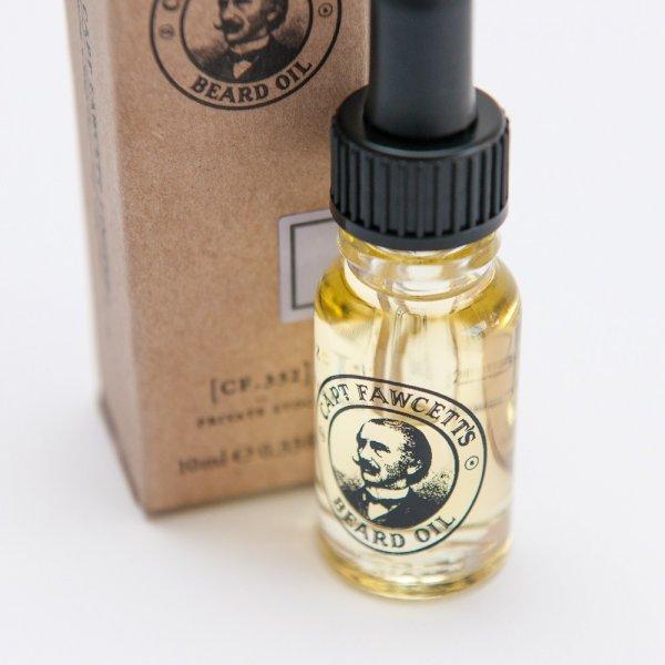 Cestovné balenie oleja na bradu Private Stock 3