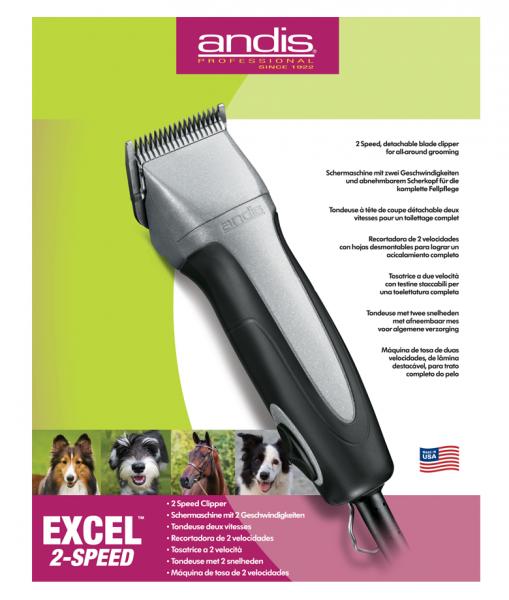 Andis Excel 2-rýchlostný 1