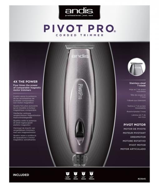 Andis PivotPro T-Blade  2