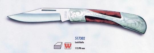 Vreckový lovecký nôž Lock knive FES Solingen 1