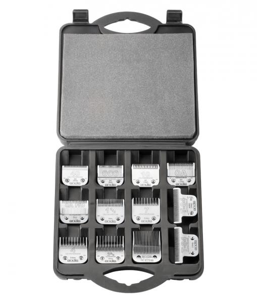 Pevný kufrík Andis na strihacie hlavice 2