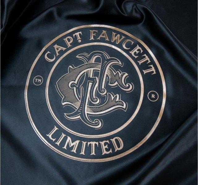 Luxusné Barber pláštenka Captain Fawcett 4