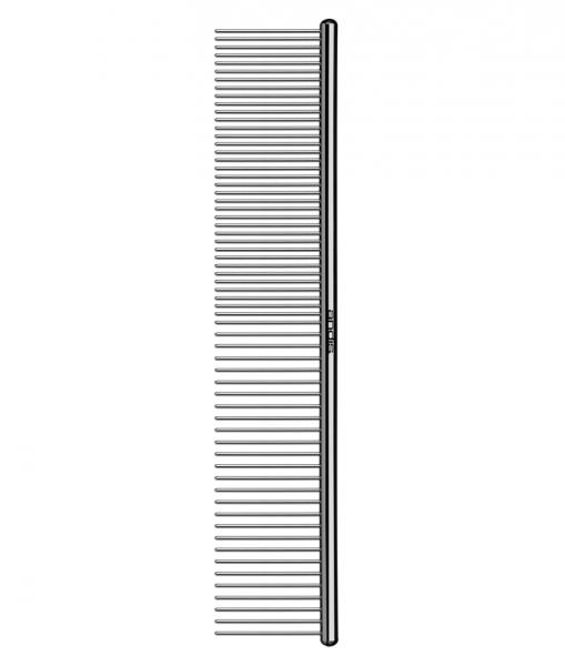 Kovový hrebeň Andis na srsť - jednostranný - 18 cm