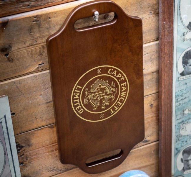 Obojručné drevené zrkadlo pre Barbery 4