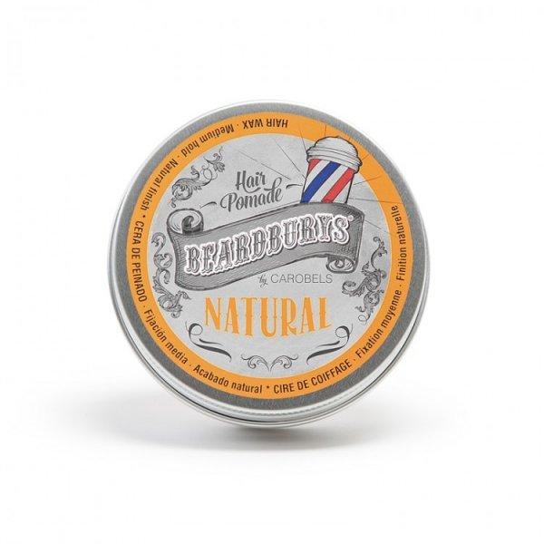 Beardburys Natural pomáda na vlasy 100 ml.