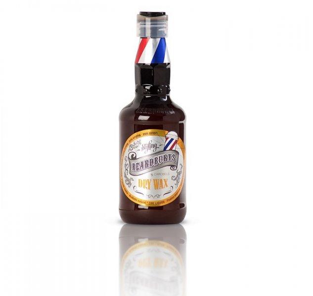 Beardburys Dry Wax tekutý vosk na vlasy 250 ml.