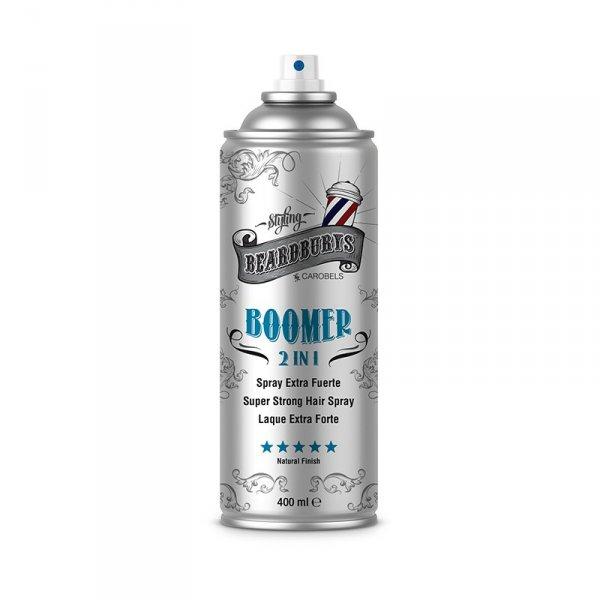 Fixačný sprej na vlasy Beardburys Boomer 2v1 400 ml.