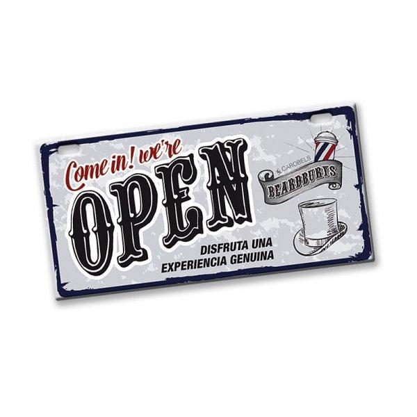 Cedule Open / Close Beardburys 1