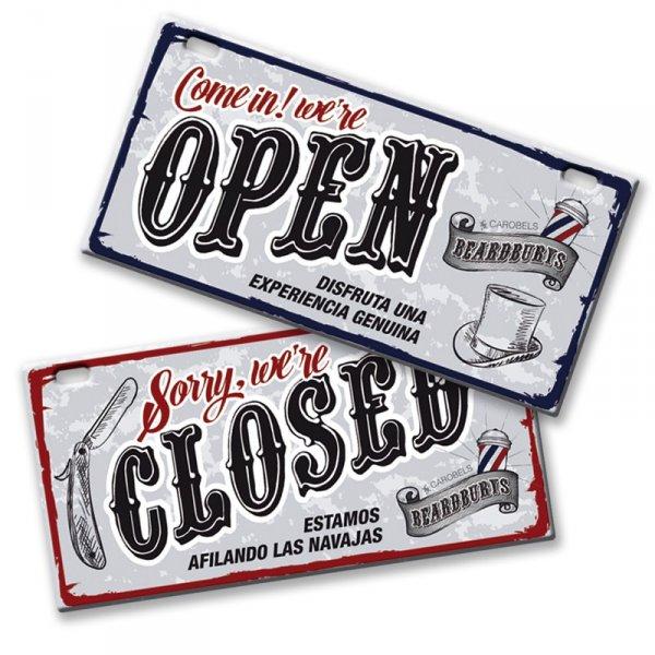 Cedule Open / Close Beardburys 2