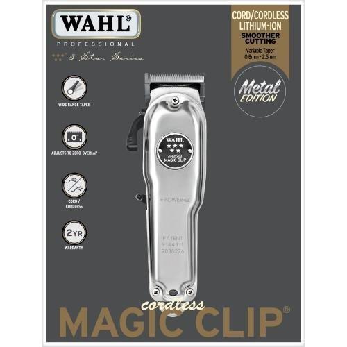 WAHL Cordless Magic Clip Metal Edition 1