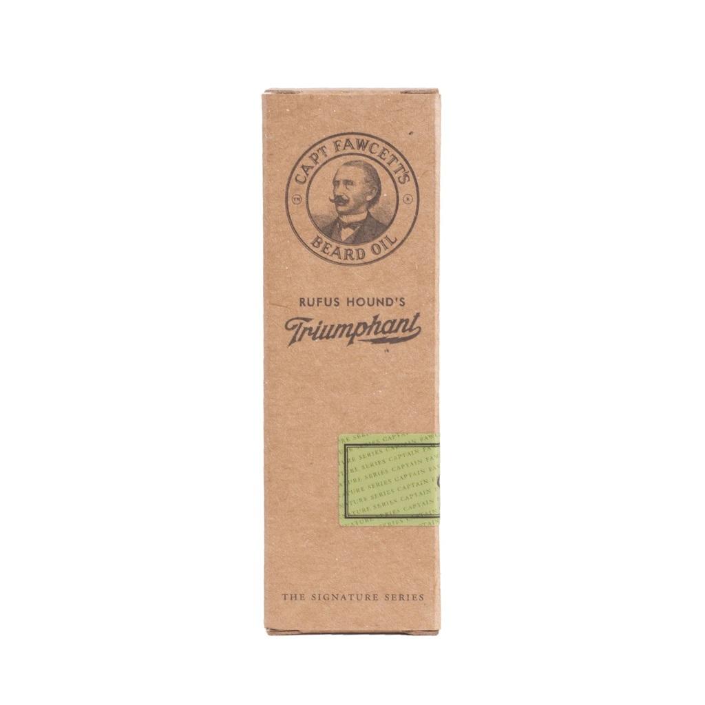 Cestovné balenie luxusného oleja Captain Fawcett 10 ml.