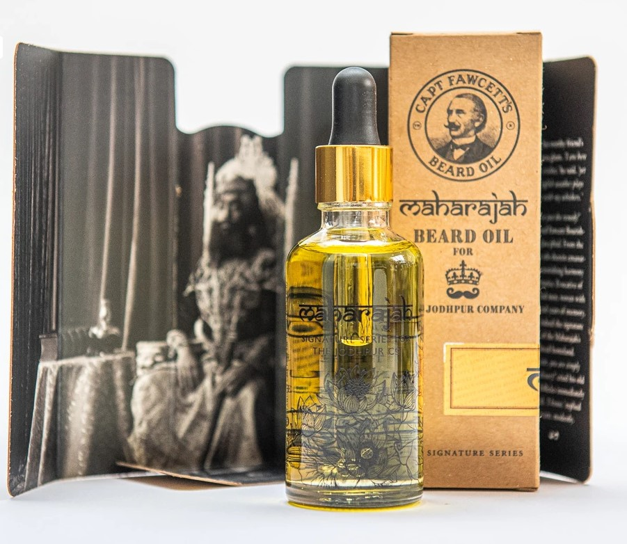 Cestovné balenie luxusného oleja Captain Fawcett 10 ml. 2